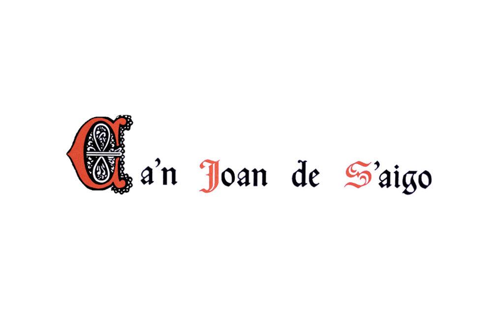 Logo antiguo de Ca'n Joan de s'Aigo